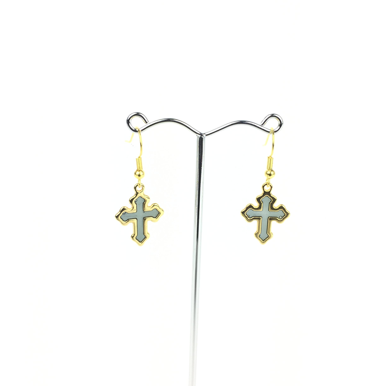 Σκουλαρίκια σταυρός