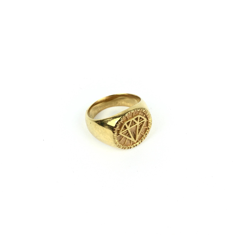 Ατσάλινο Ανδρικό Δαχτυλίδι (38)