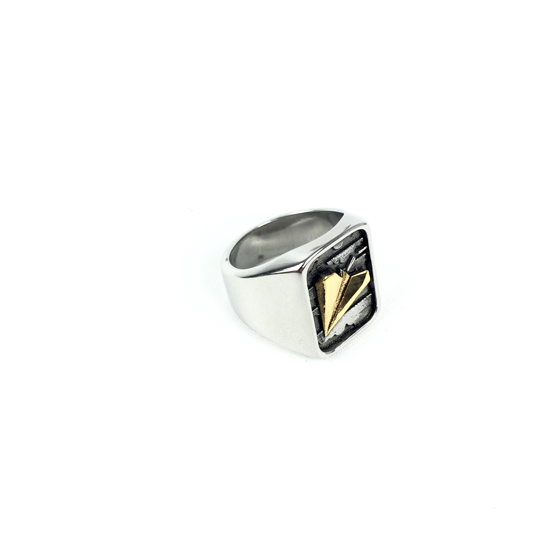 Ατσάλινο Ανδρικό Δαχτυλίδι (48)