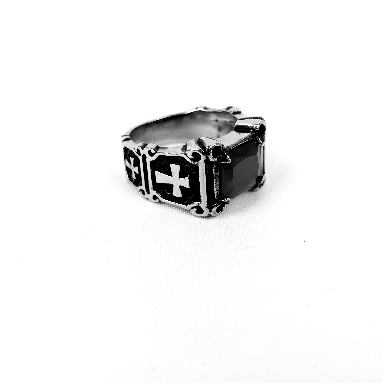 Ατσάλινο Ανδρικό Δαχτυλίδι (92)
